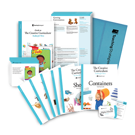 Product image showing components of the curriculum